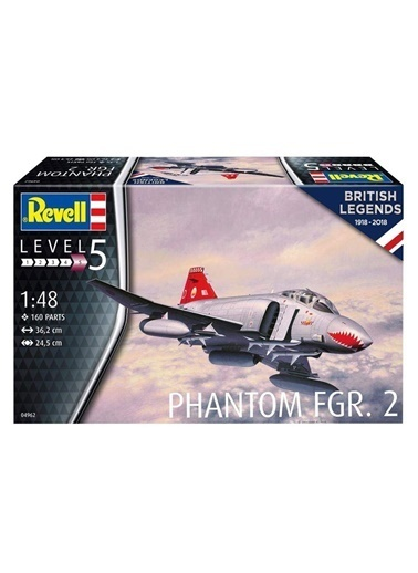 Revell  Maket Phantom FGR2 04962 Renkli